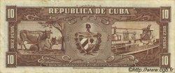 10 Pesos CUBA  1960 P.088c SUP