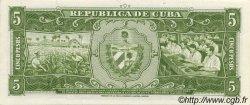 5 Pesos CUBA  1958 P.091s1 NEUF