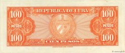 100 Pesos CUBA  1959 P.093a SPL