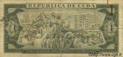 1 Peso CUBA  1961 P.094a TTB