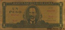 1 Peso CUBA  1968 P.102a B