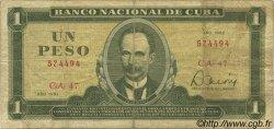 1 Peso CUBA  1982 P.102b TB