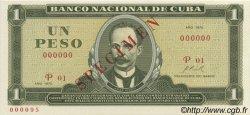 1 Peso CUBA  1970 P.102s NEUF