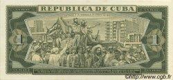 1 Peso CUBA  1968 P.102s pr.NEUF