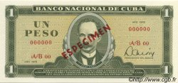 1 Peso CUBA  1978 P.102s NEUF