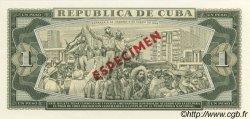 1 Peso CUBA  1980 P.102s NEUF