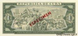 1 Peso CUBA  1981 P.102s pr.NEUF