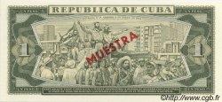 1 Peso CUBA  1982 P.102s NEUF