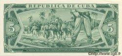 5 Pesos CUBA  1984 P.103c NEUF