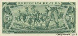 5 Pesos CUBA  1968 P.103s NEUF