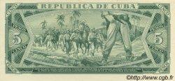 5 Pesos CUBA  1970 P.103s pr.NEUF