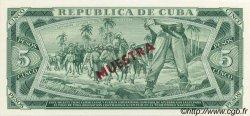 5 Pesos CUBA  1985 P.103s NEUF