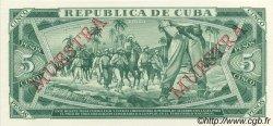 5 Pesos CUBA  1988 P.103s NEUF