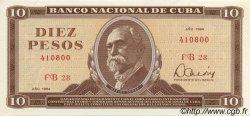 10 Pesos CUBA  1984 P.104c NEUF