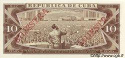 10 Pesos CUBA  1987 P.104s NEUF