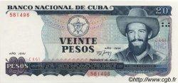 20 Pesos CUBA  1991 P.110 SPL+