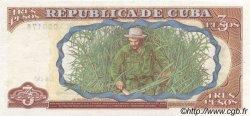 3 Pesos CUBA  1995 P.113 NEUF