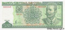 5 Pesos CUBA  2003 P.116