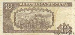 10 Pesos CUBA  2002 P.117e TB