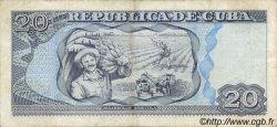 20 Pesos CUBA  2002 P.118d TTB