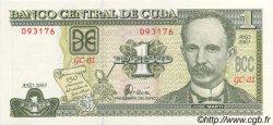 1 Peso CUBA  2003 P.121c