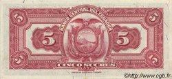 5 Sucres ÉQUATEUR  1949 P.091c SPL