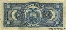 10 Sucres ÉQUATEUR  1943 P.092b TTB+