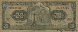 20 Sucres ÉQUATEUR  1971 P.103b B