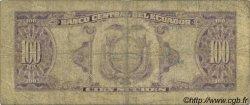 100 Sucres ÉQUATEUR  1966 P.105var B