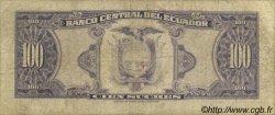 100 Sucres ÉQUATEUR  1980 P.112 B+