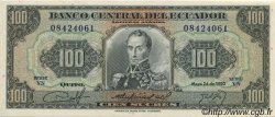 100 Sucres ÉQUATEUR  1980 P.112 NEUF