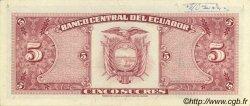 5 Sucres ÉQUATEUR  1979 P.113c SUP