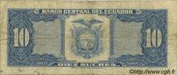 10 Sucres ÉQUATEUR  1982 P.114b B+