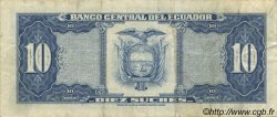10 Sucres ÉQUATEUR  1982 P.114b TTB