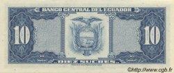 10 Sucres ÉQUATEUR  1982 P.114b NEUF