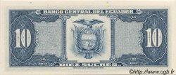 10 Sucres ÉQUATEUR  1983 P.114b NEUF