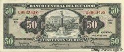 50 Sucres ÉQUATEUR  1974 P.116d SUP