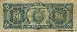 50 Sucres ÉQUATEUR  1982 P.116e TB