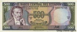 500 Sucres ÉQUATEUR  1982 P.119b NEUF