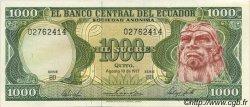1000 Sucres ÉQUATEUR  1977 P.120a SPL