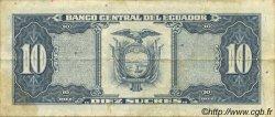 10 Sucres ÉQUATEUR  1988 P.121 TB+
