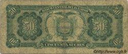 50 Sucres ÉQUATEUR  1988 P.122a B+