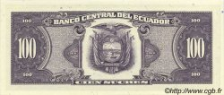 100 Sucres ÉQUATEUR  1990 P.123 NEUF