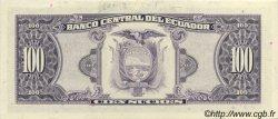 100 Sucres ÉQUATEUR  1988 P.123Aa NEUF