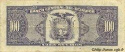 100 Sucres ÉQUATEUR  1992 P.123Aa TTB