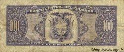 100 Sucres ÉQUATEUR  1993 P.123Ab TB