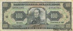 100 Sucres ÉQUATEUR  1994 P.123Ac TTB