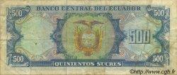 500 Sucres ÉQUATEUR  1984 P.124a pr.TTB