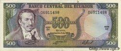 500 Sucres ÉQUATEUR  1984 P.124a SUP
