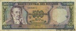 500 Sucres ÉQUATEUR  1988 P.124A TB+